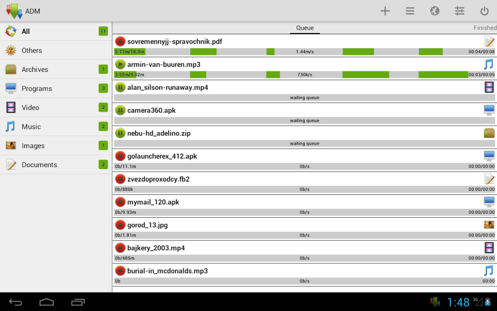 61YnHY8IS0L 1024x640 - Advanced Download Manager Pro Apk indir v7.3