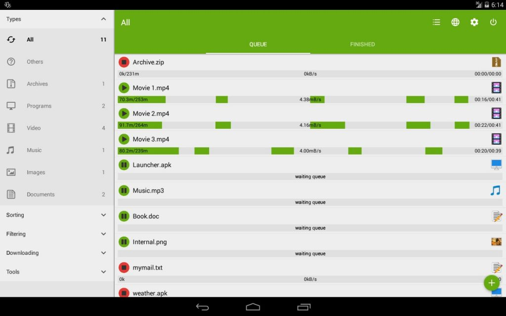 Advanced Download Manager Pro 1024x640 - Advanced Download Manager Pro Apk indir v7.3