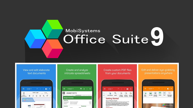 OfficeSuite 9 Pro - OfficeSuite 9 Pro + PDF Premium Full Apk indir v10.2.17014