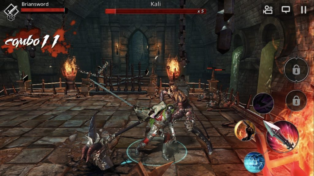 darkness rises ios review screenshot dealing with demons 1024x576 - Darkness Rises Mod Hileli Full Apk indir v1.14.0