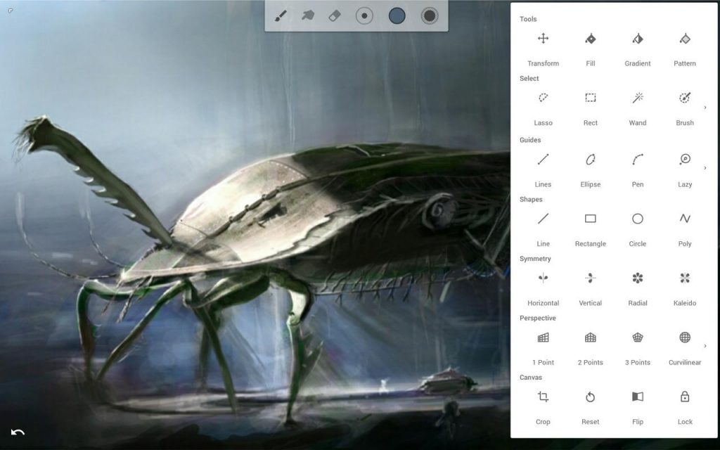 screen 6 1024x640 - Infinite Painter Full Apk indir v6.3.7