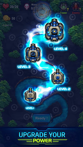 tower defense galaxy v - Tower Defense: Galaxy V Mod Apk - Para Hileli v1.0.5