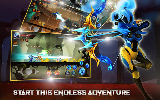 stickman legends shadow wars apk indir - Stickman Legends: Shadow War Apk indir - Para Hileli Mod v2.4.11