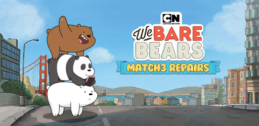 we bare bears match3 repairs mod apk