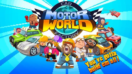 motor world car factory mod apk - Motor World Car Factory Apk indir - Para Hileli Mod v1.9031