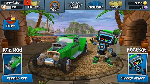 beach buggy racing 2 apk indir - Beach Buggy Racing 2 Apk indir - Para Hileli Mod v1.6.3