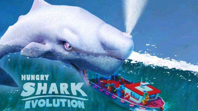 hungry shark evolution hile 768x432 - Hungry Shark Evolution Apk indir - Para Hileli Mod v7.6.0