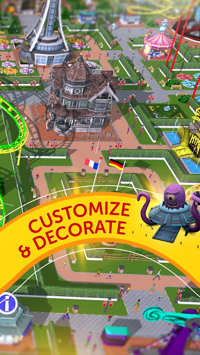 rollercoaster tycoon touch apk indir - RollerCoaster Tycoon Touch Apk indir - Kaynak Hileli Mod v3.8.2