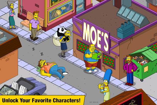 the simpsons tapped out indir - The Simpsons: Tapped Out Apk indir - Para Hileli Mod v4.38.0
