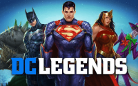 dc legends hile 200x125 - DC Legends: Battle for Justice Apk indir - Hasar Hileli Mod v1.25
