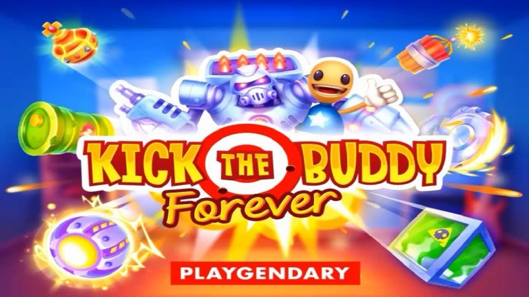 kick the buddy forever hile 768x432 - Kick the Buddy: Forever Apk indir - Para Hileli Mod v1.4.1
