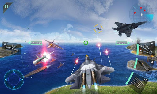 sky fighters 3d - Sky Fighters 3D Apk indir - Para Hileli Mod v1.5