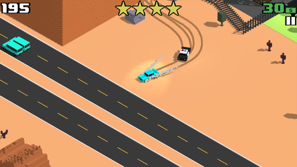 smashy road wanted indir 1024x576 - Smashy Road: Wanted Apk indir - Para Hileli Mod v1.3.5