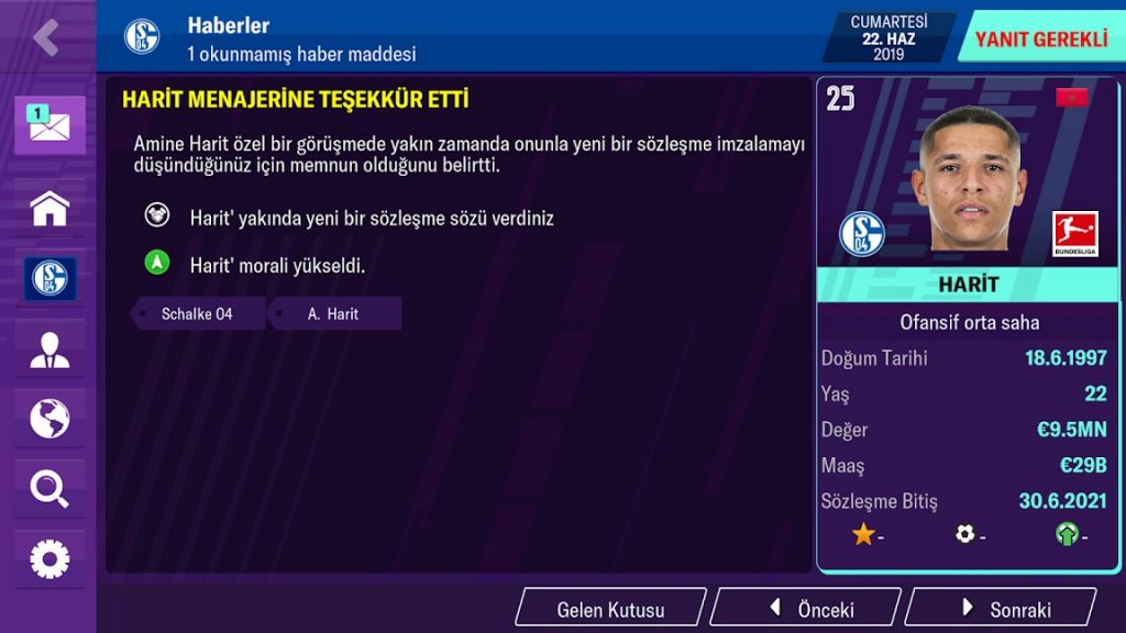 football manager 2020 mobile 1024x576 - Football Manager 2020 Mobile Apk indir - Full v11.1.1
