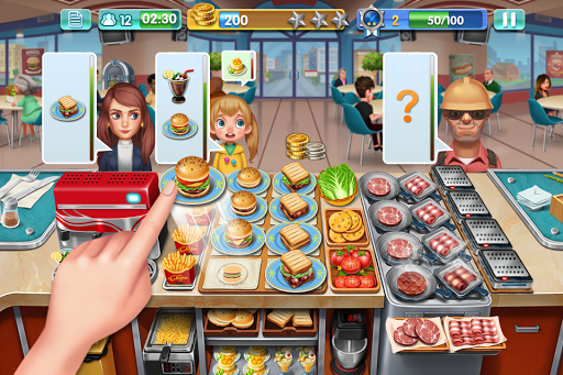 crazy cooking star chef - Crazy Cooking Star Chef Apk indir - Para Hileli Mod v2.0.0
