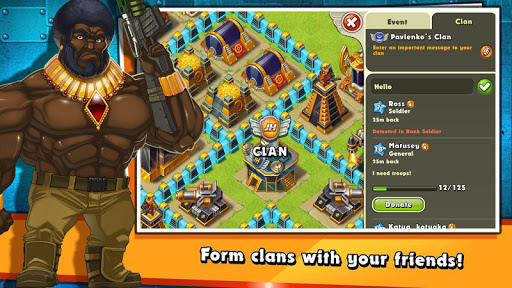 jungle heat war of clans indir - Jungle Heat: War of Clans Apk indir - Ölümsüzlük Hileli Mod v2.1.3