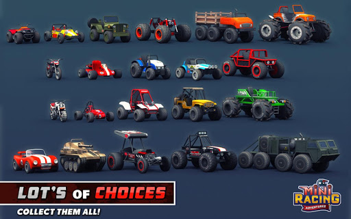 mini racing adventures indir - Mini Racing Adventures Apk indir - Para Hileli Mod v1.21.3