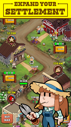 idle frontier tap town apk indi - Idle Frontier: Tap Town Apk indir - Para Hileli Mod v1.039