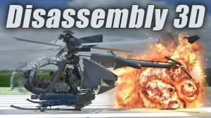 disassembly 3d hile 300x169 - Flight Simulator 2018 FlyWings Apk indir - Kilitsiz Mod v2.2.7
