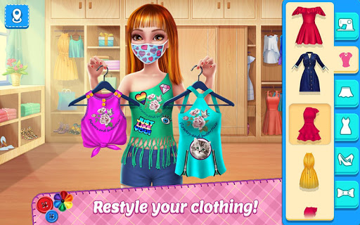 diy fashion star 1 - DIY Fashion Star Apk indir - Kilitsiz Mod v1.2.1