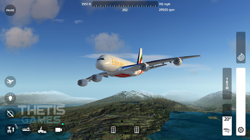 flight simulator 2018 flywings 1 - Flight Simulator 2018 FlyWings Apk indir - Kilitsiz Mod v2.2.7
