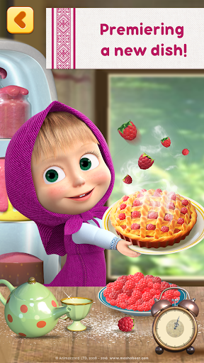 masha and bear cooking dash 1 - Masha and Bear: Cooking Dash Apk indir - Kilitsiz Mod v1.3.1