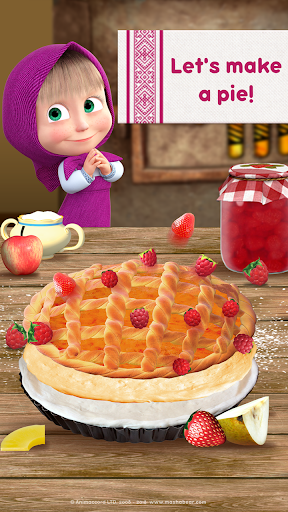 masha and bear cooking dash apk indir 1 - Masha and Bear: Cooking Dash Apk indir - Kilitsiz Mod v1.3.1