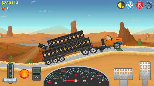 trucker real wheels - Trucker Real Wheels Apk indir - Para Hileli Mod v3.1.6