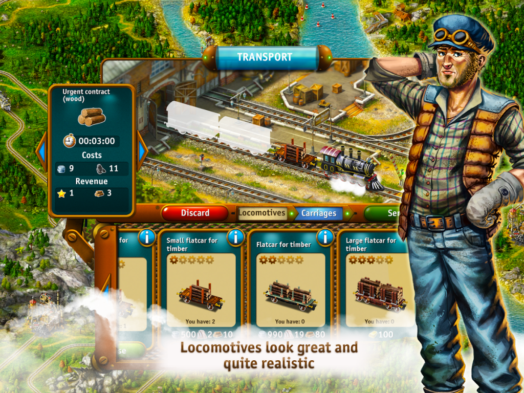 transport empire steam tycoon apk indir 1 1024x768 - Transport Empire: Steam Tycoon Apk indir - Para Hileli Mod v3.0.30